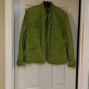 Chicos green jacket
